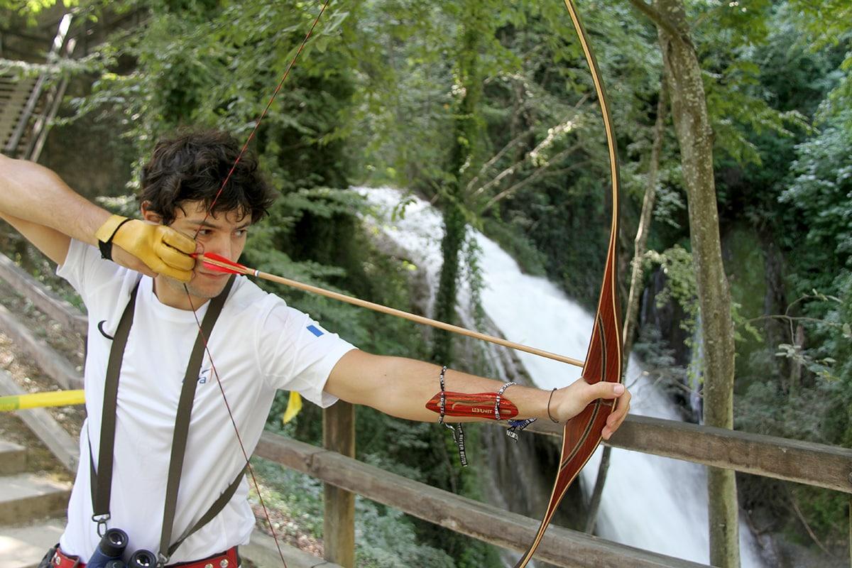 Robin Gardeur archer longbow 3D