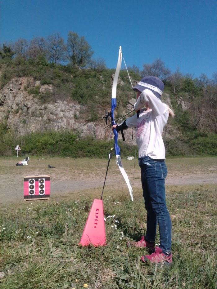 Stage de vacances de Pâques pour les jeunes archers du Pays des Brouilly
